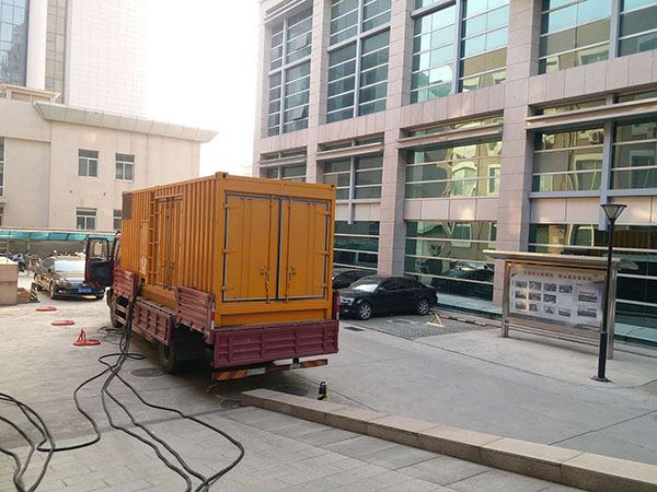 淮南瓯海县静音发电机出租案列