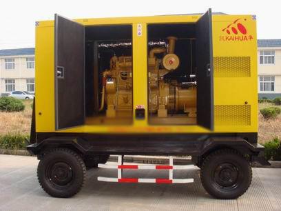 淮南应急发电机-300kw移动静音发电机组